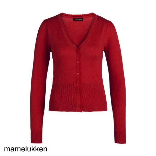 King Louie - Cardi v Cocoon - Icon Red