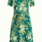 King Louie - Betty Dress Makura - Para Green