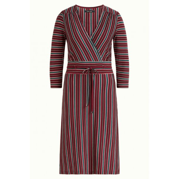 King Louie - Cecil Dress Nippon Stripe - Beet Red