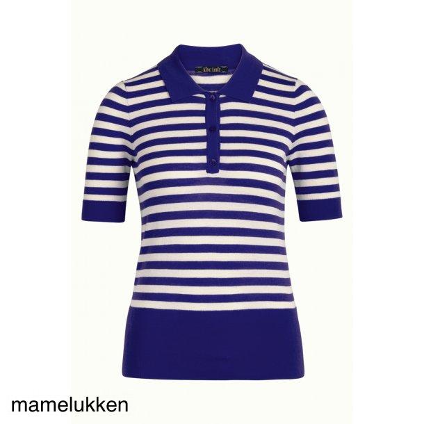 King Louie - Polo Top Classic Stripe - Mazerine