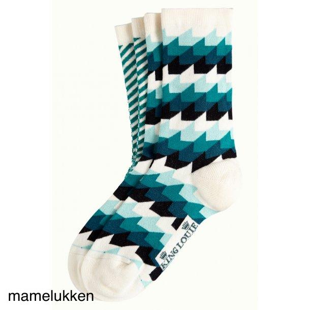 King Louie - Socks 2-Pack Daze - Eden Green