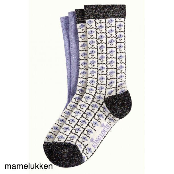 King Louie - Socks 2-Pack Yucca - Black