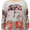 Purplish Pullover - Girl on Tiger
