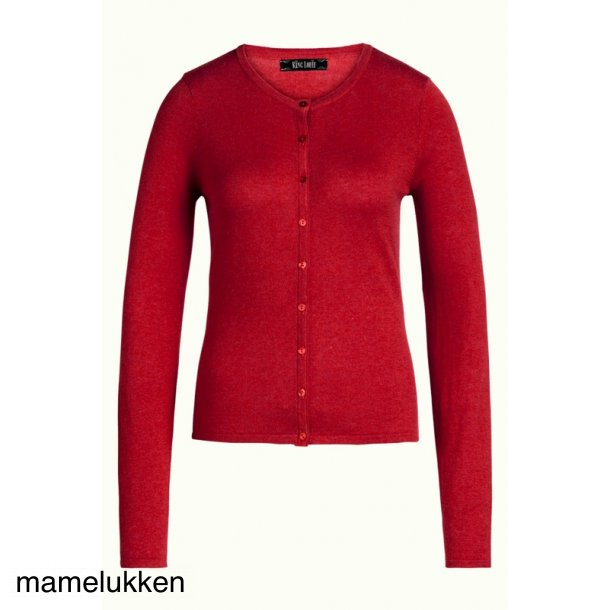 King Louie - Cardi Roundneck Cocoon - Icon Red