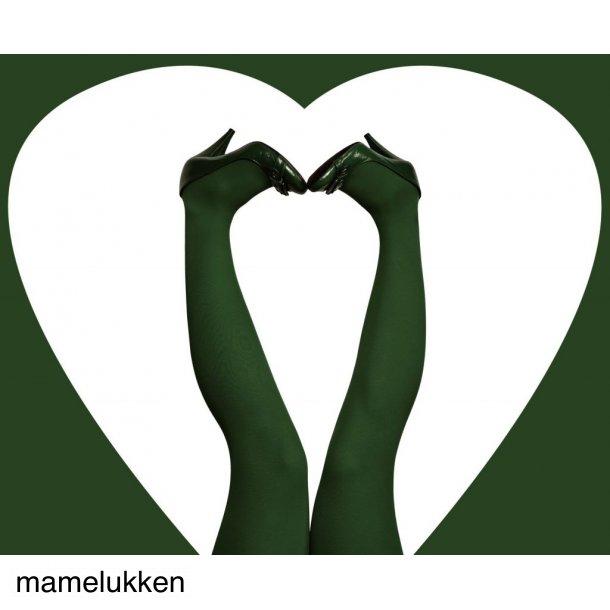 Du Milde Strømpebukser - Bottle Green