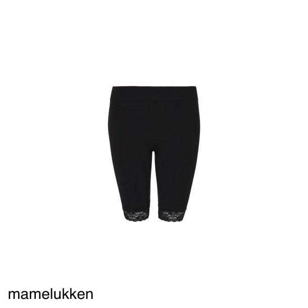 Tim & Simonsen - Bike short lace legging m. blondekant - Black