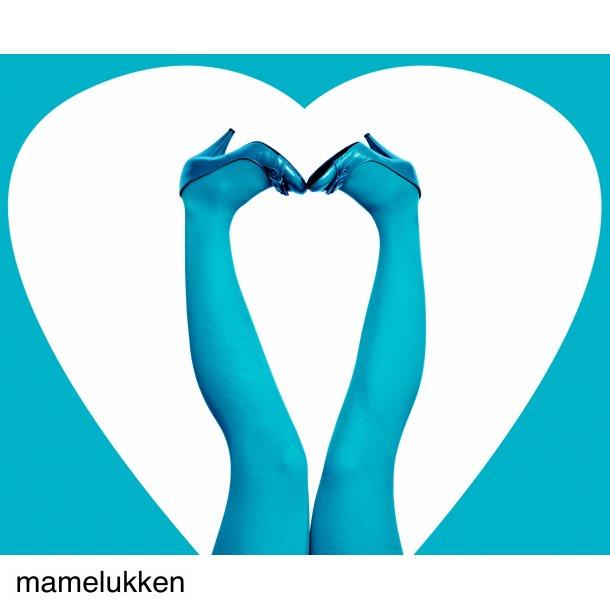 Du Milde Strømpebukser - Happy Turquoise