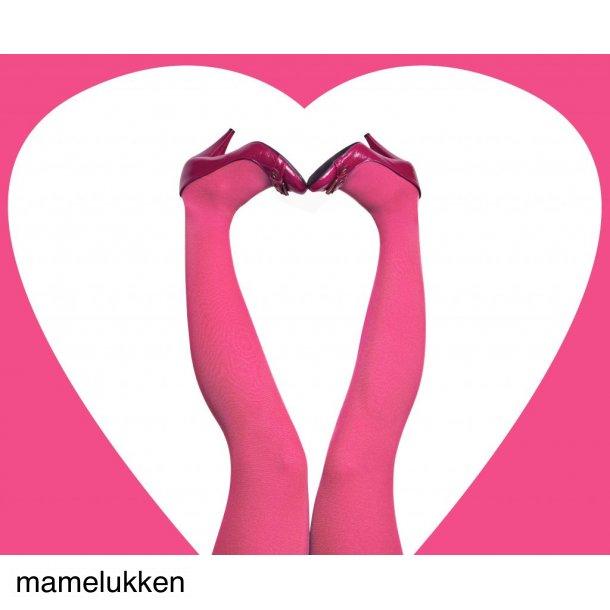 Du Milde Strømpebukser - Pink Candy