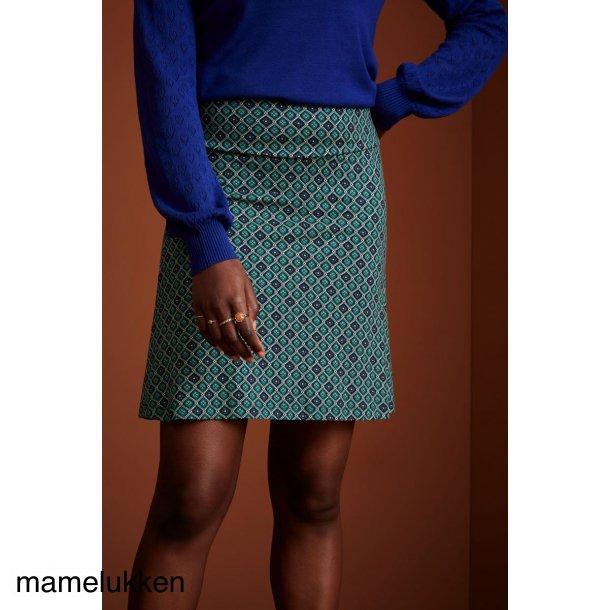 King Louie - Border Skirt Carlisle - Peacoat Blue