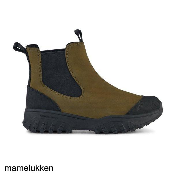 Woden - Magda Rubber Track Boot - Dark Olive
