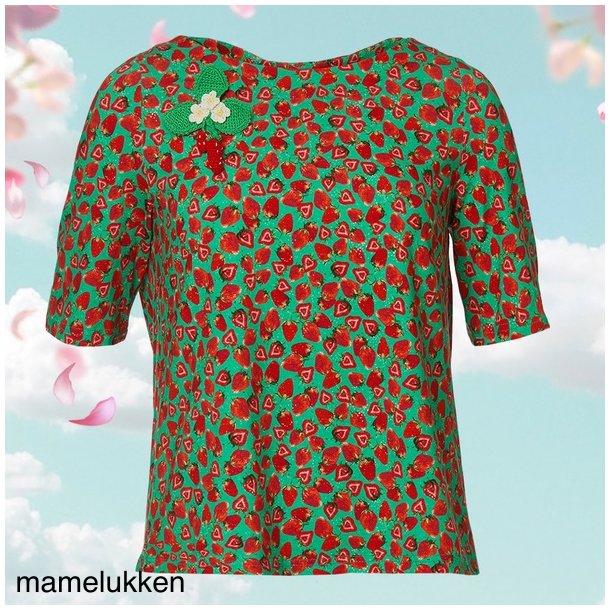 Du Milde Bluse - DuMARY Strawberry