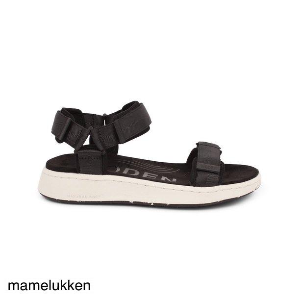 Woden - Line Sandal - Black