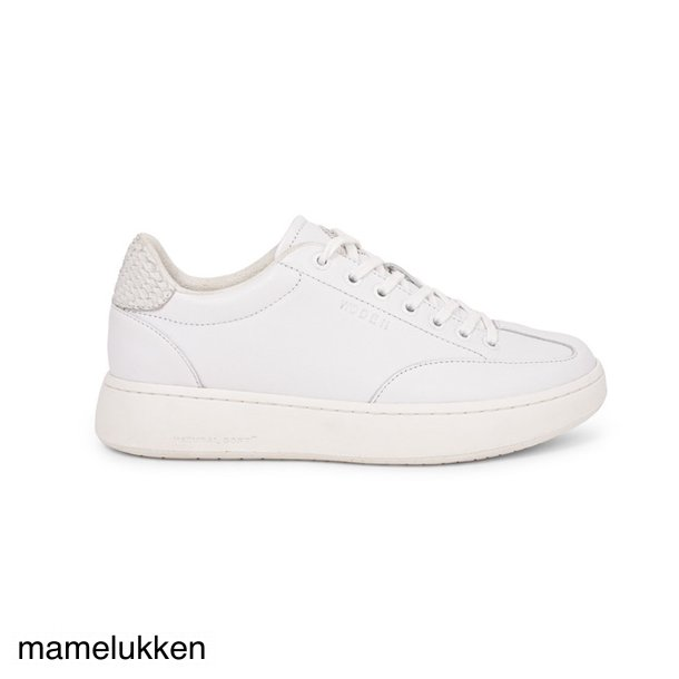 Woden - Pernille Leather - Bright White
