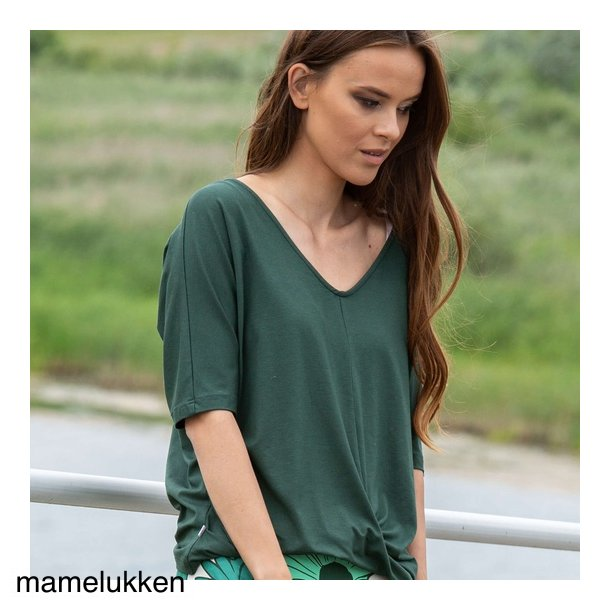 Charles Design - Viola Bluse - Army Green