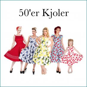 50'er kjoler Voksne og børn