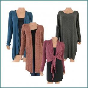 Basis - Ensfarvet tøj