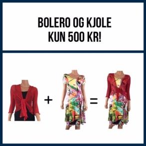 Sommerkjole + Bolero = 500 kr.