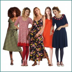117 forskellige kjoler King Louie Du Milde Charles Design PN
