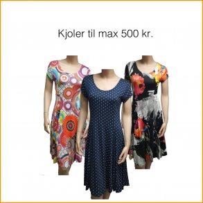 Kjoler max. 500 kr.