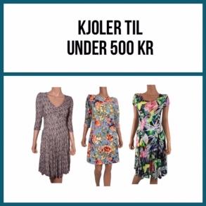 Kjoler under 500 kr.