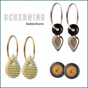 SCHERNING - Kæder & Ørenringe