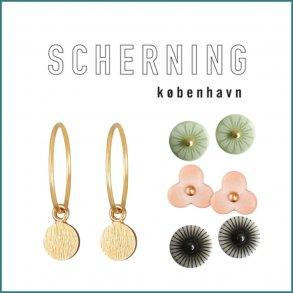 SCHERNING - Kæder-Ørenringe