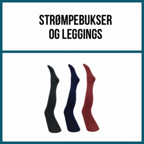 Str�mpebukser og leggings