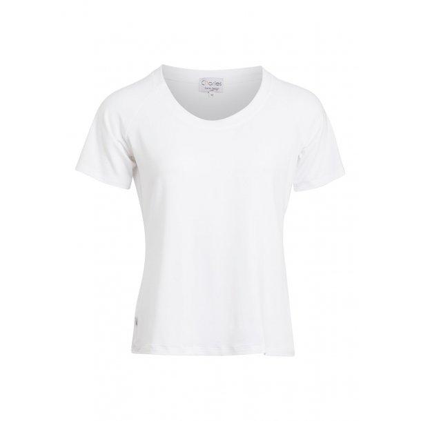 Charles Design - T-shirt Karen - Hvid