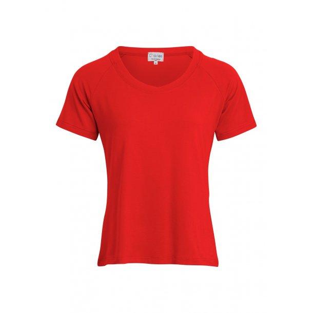 Charles Design - T-shirt Karen - Rød