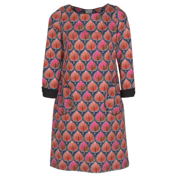 Charles Design - Kjole Tomine - Røde blade
