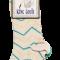 King Louie Socks Short 2-Pack Marley - Cream