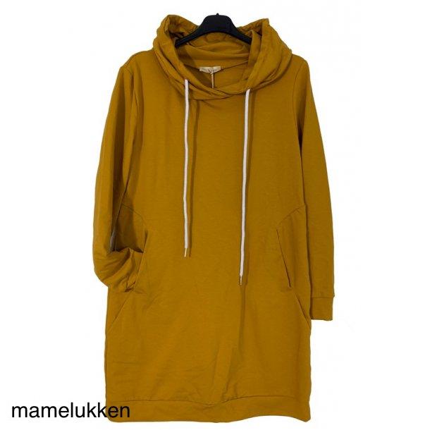 Sweatshirtkjole - Mango - Sort  snørre
