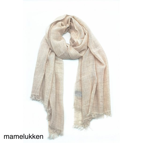 Ulla - Tørklæde - Rosa
